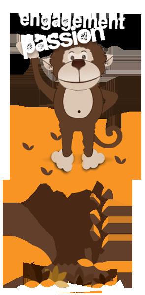 About Monkey Business AJ the Monkey