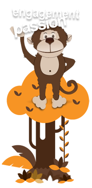 AJ - Monkey Business Marketing Mascot